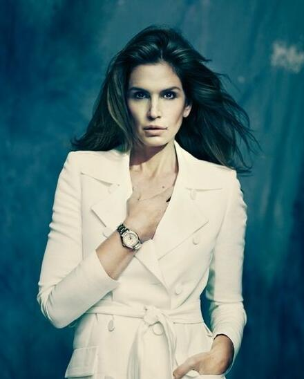 Cindy Crawford and Omega Replica
