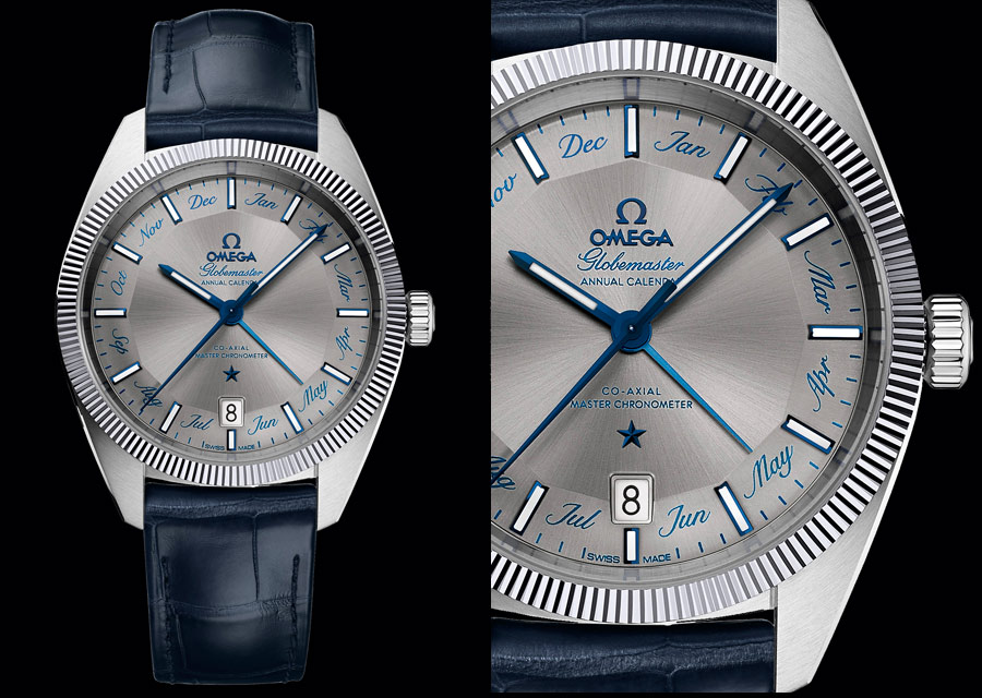 omega globemaster annual calendar replica watch