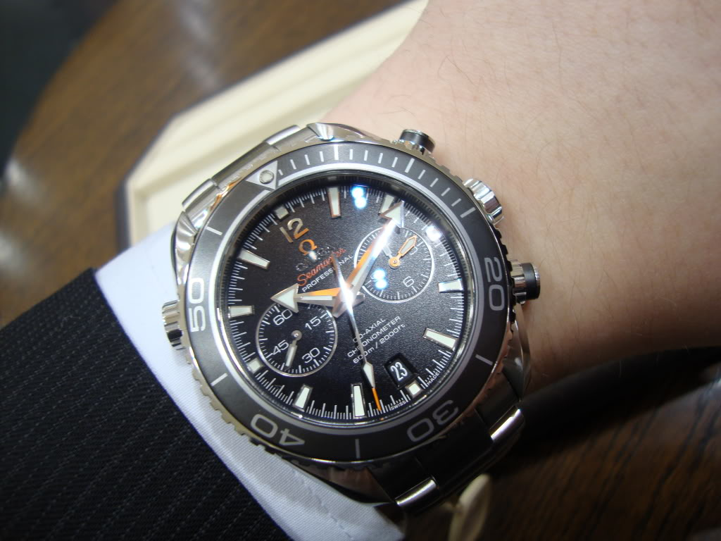 omega seamaster planet ocean 45.5mm replica