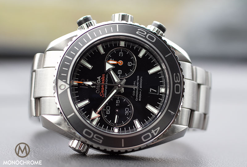 omega seamaster planet ocean 45.50 mm chronograph replica