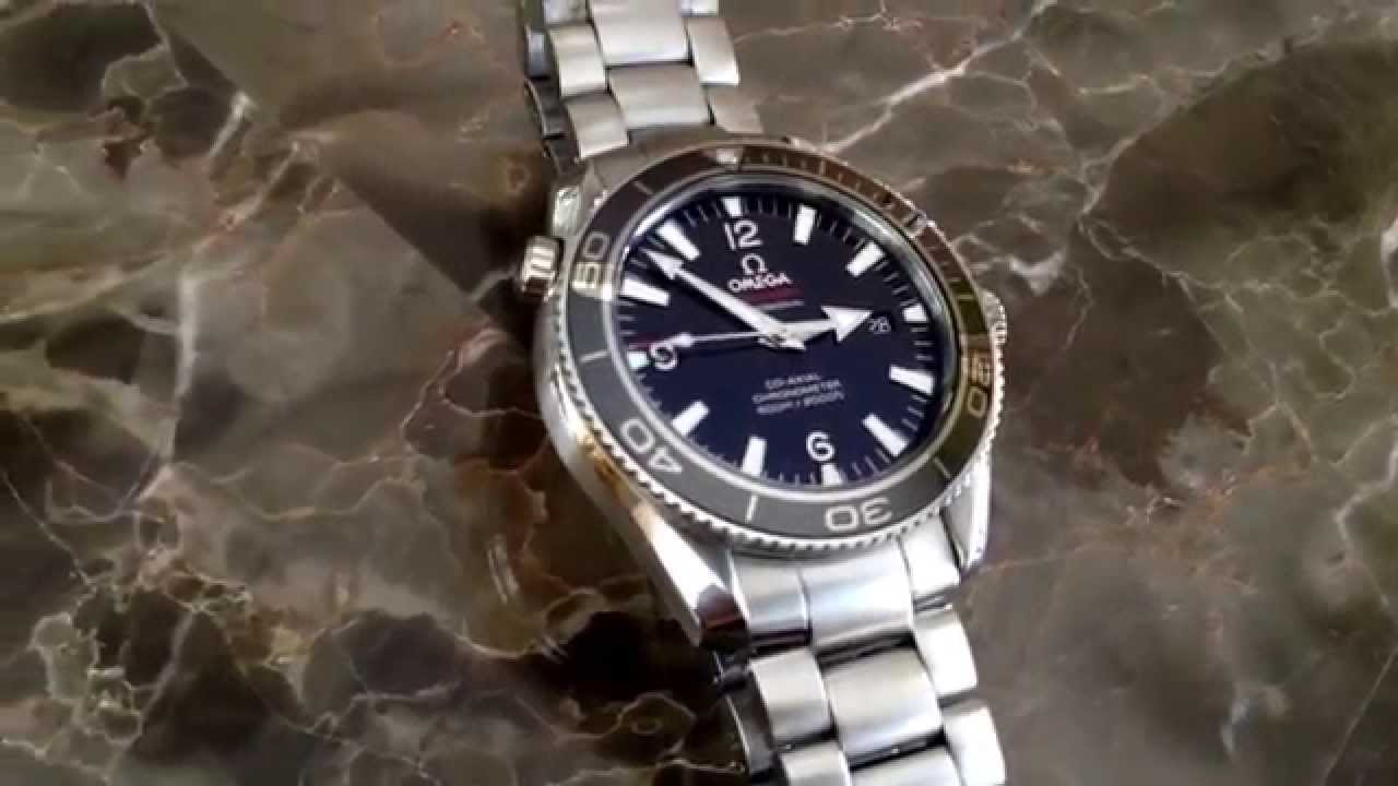 Omega Seamaster Planet Ocean Liquidmetal® Limited Edition