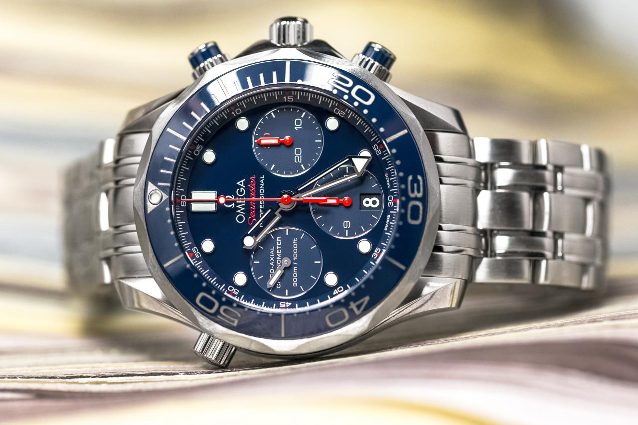 Omega Seamaster 300M Chronograph GMT Co-Axial