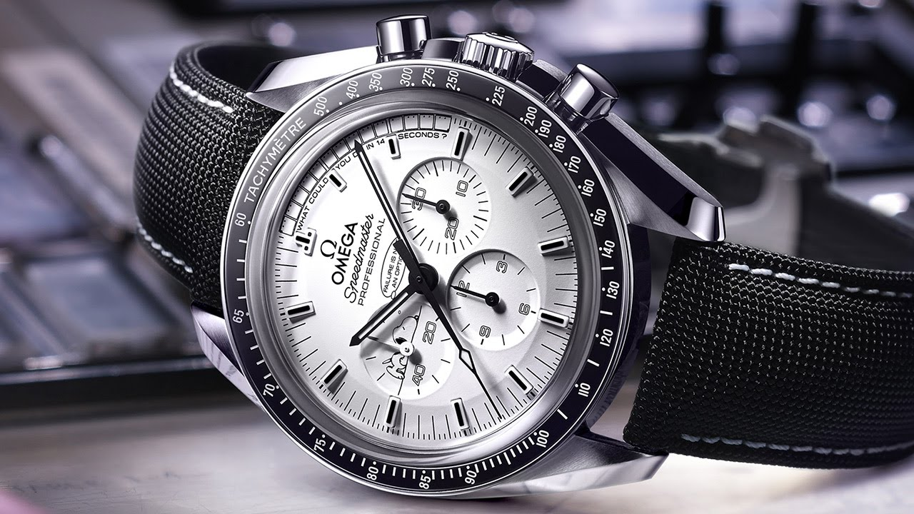 Speedmaster Apollo 13 Silver Snoopy Award