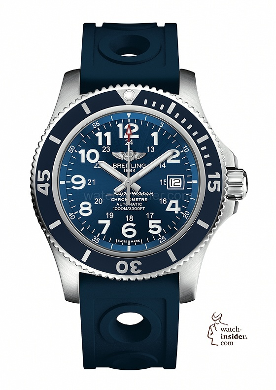 Breitling Superocean II 44 with mariner blue dial
