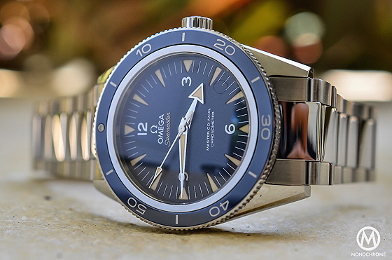 Omega Seamaster 300 Master Co-Axial - titanium - reclining