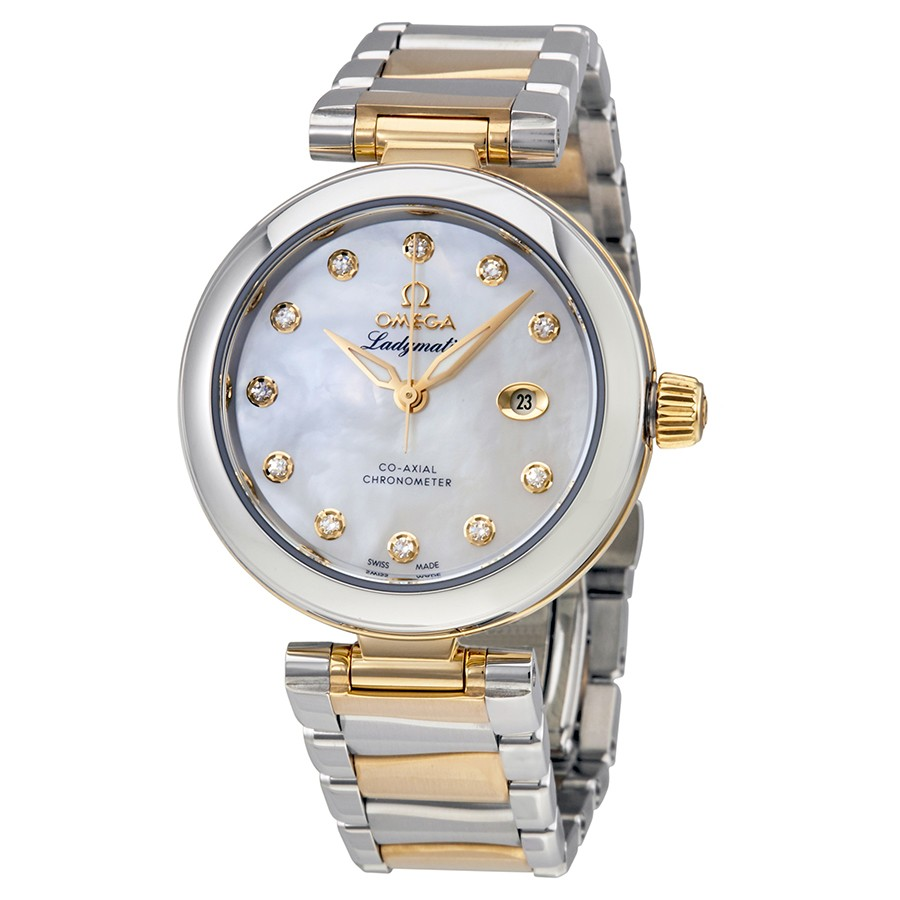 Omega De Ville Ladymatic Automatic Ladies Two Tone Watch 425.20.34.20.55.003