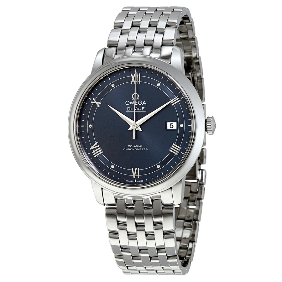 Omega De Ville Prestige Blue Dial Automatic Men's Watch 424.10.40.20.03.002